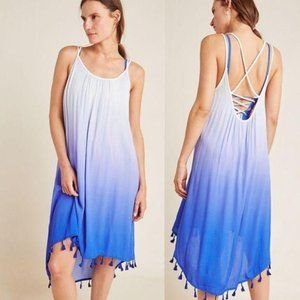 NEW Anthropologie High-Low Cover-Up Dress S